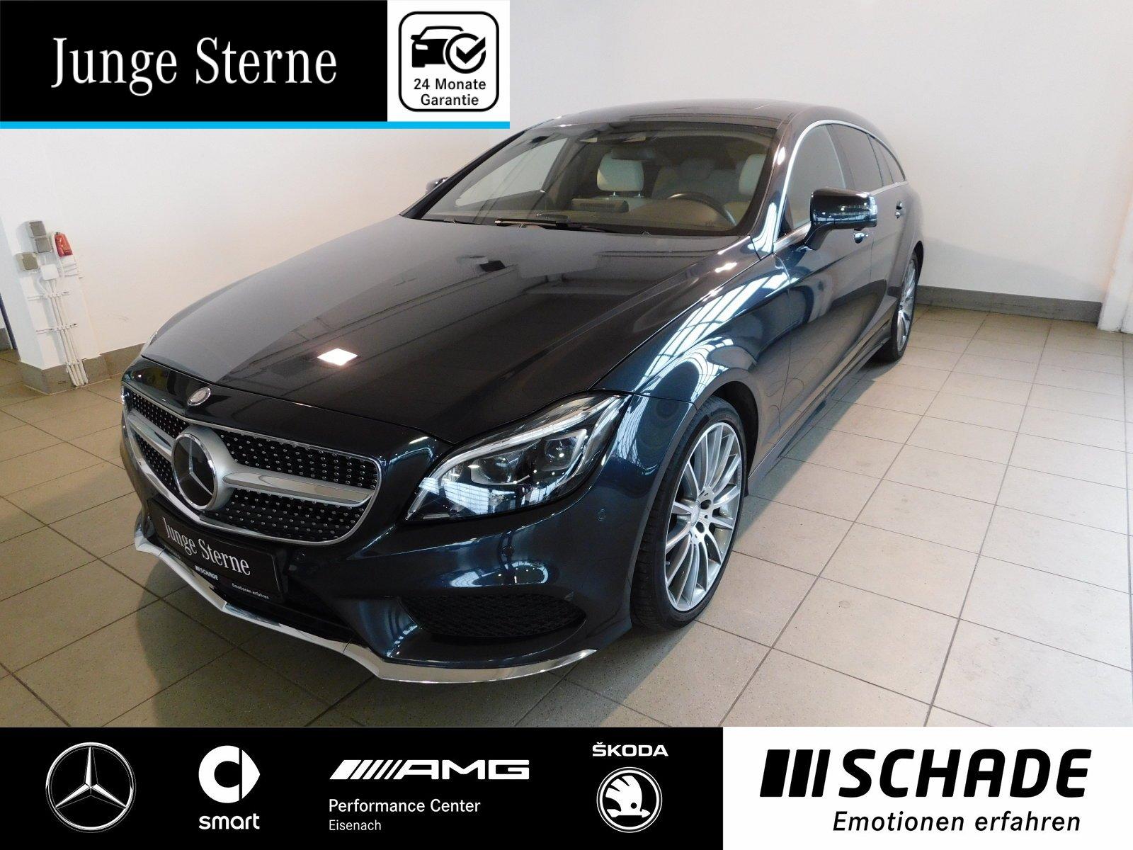 Mercedes-Benz CLS 400 SB AMG Line Comand*LED Multib.*Airmatic*, Jahr 2015, petrol