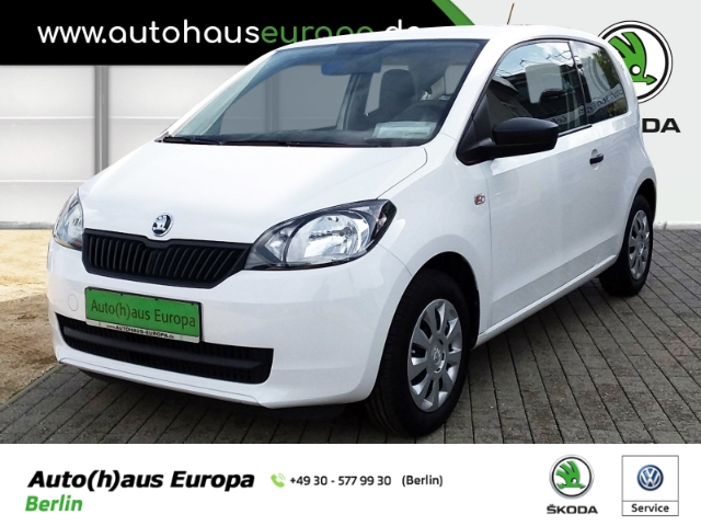 Skoda Citigo Cool Edition 1.0 Klima el.Fenster CD MP3, Jahr 2016, petrol
