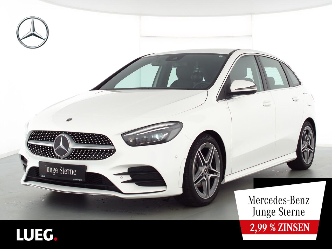 Mercedes-Benz B 180 d AMG+MBUX+NavPr+Mbeam+Sthzg+AHK+Sound+RFK, Jahr 2020, Diesel