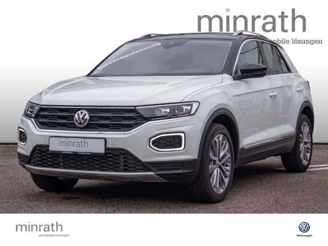Volkswagen T-Roc Style 1.5 TSI ACT EU6d-T LED Navi ACC Fernlichtass. AHK, Jahr 2019, Benzin