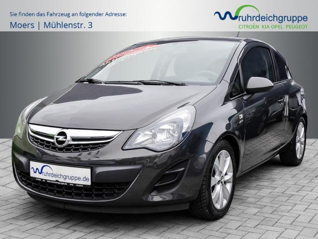 Opel Corsa Active 1.2+Klima+MP3+BC+ZV, Jahr 2013, Benzin