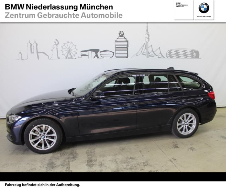 BMW 330d xDrive Touring Advantage HiFi LED Fl.Ass. EURO 6, Jahr 2016, Diesel