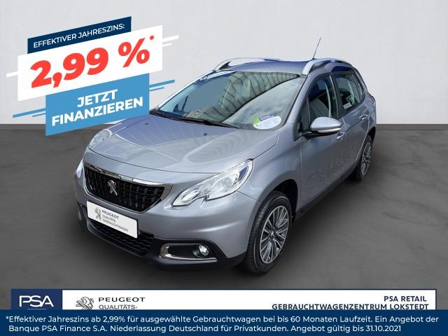 Peugeot 2008 PureTech 82 Active GJR Klima PDC shg Sitzh. BT, Jahr 2017, Benzin