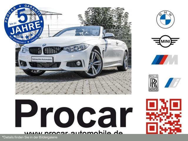 BMW 440i xDriveCabrio M Sport Innovationsp. Head-Up, Jahr 2016, Benzin
