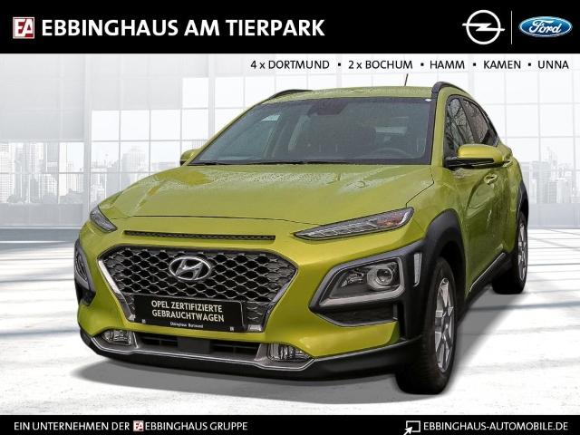 Hyundai Kona Premium 2WD 1.0 T-GDI Klimaauto Navi Rückfahrkamera Sitz-lenkradhzg, Jahr 2018, Benzin