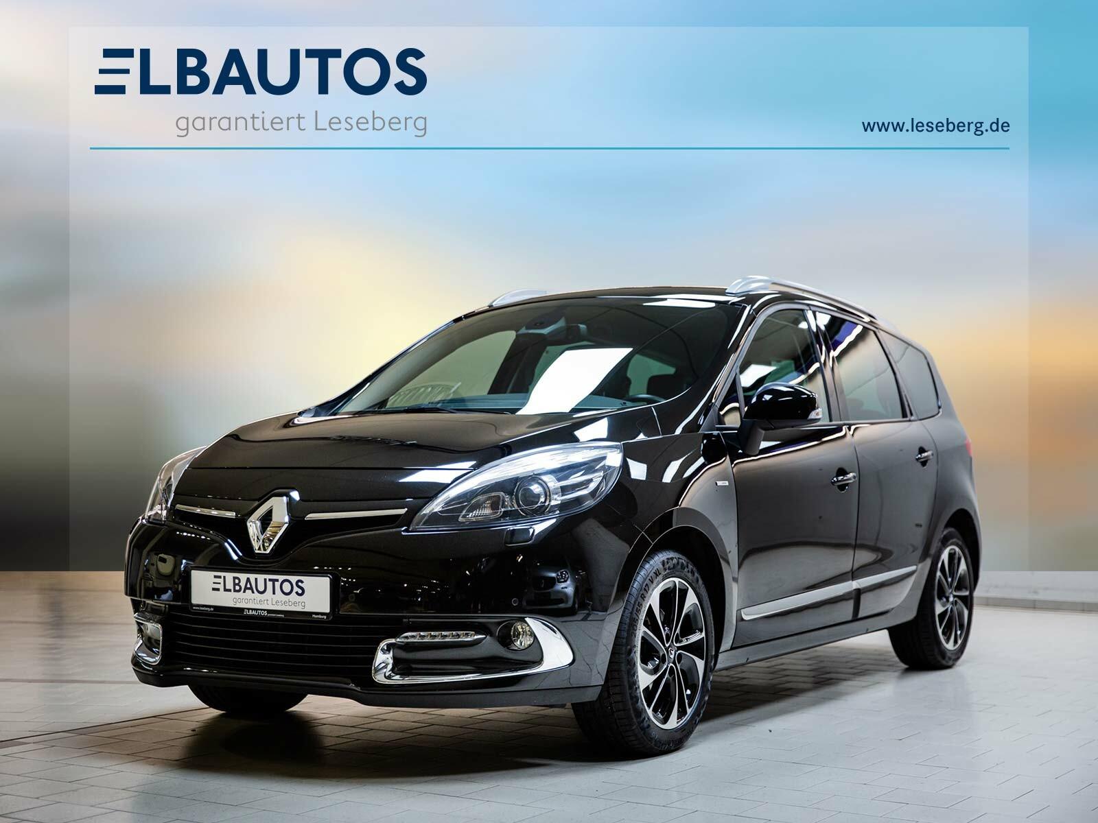 Renault Grand Scenic 1.2 TCe BOSE Edition/Bi-Xenon/Navi, Jahr 2015, Benzin
