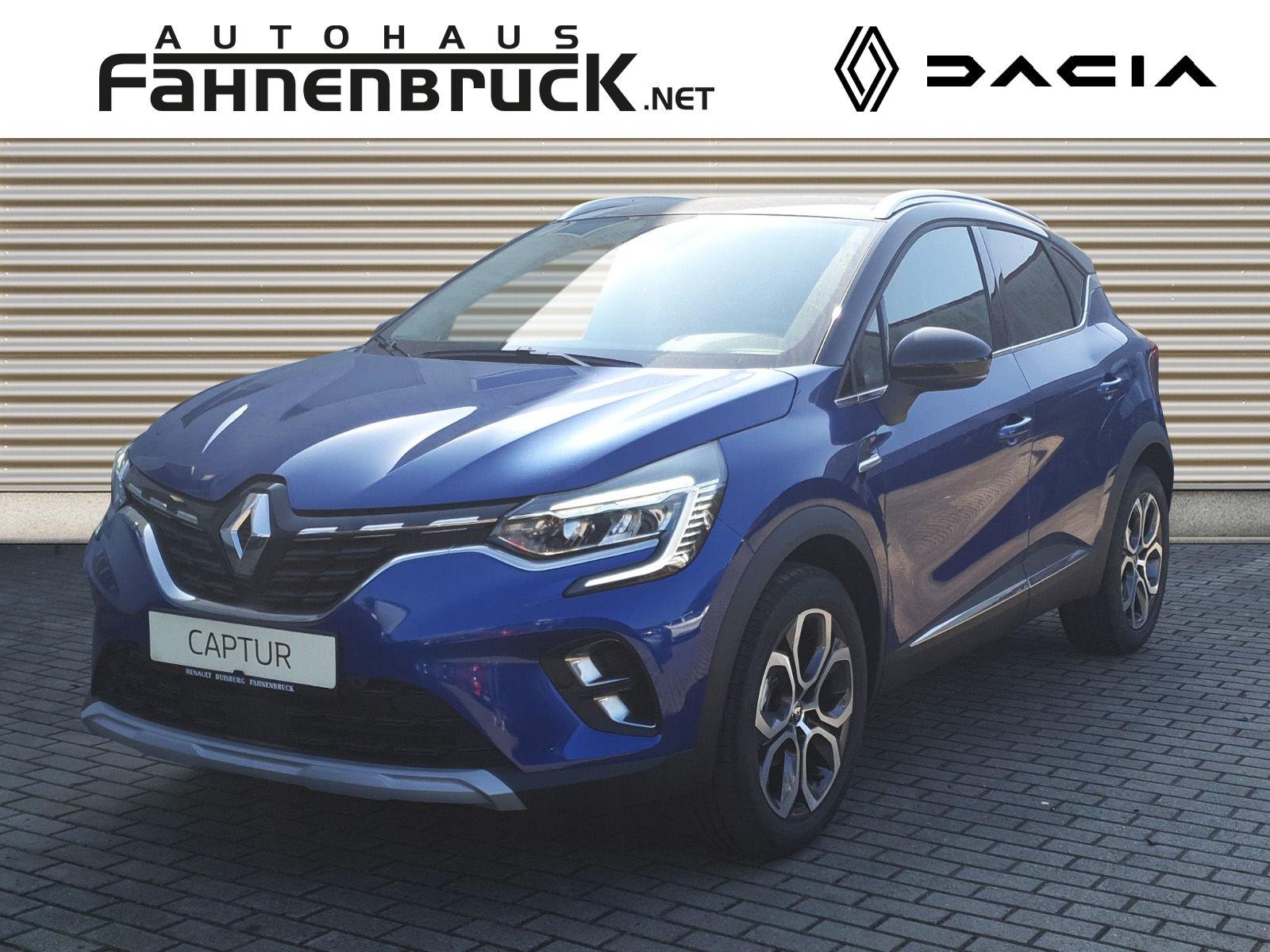 Renault Captur INTENS TCe 100 ABS Fahrerairbag ESP SERVO, Jahr 2021, Benzin