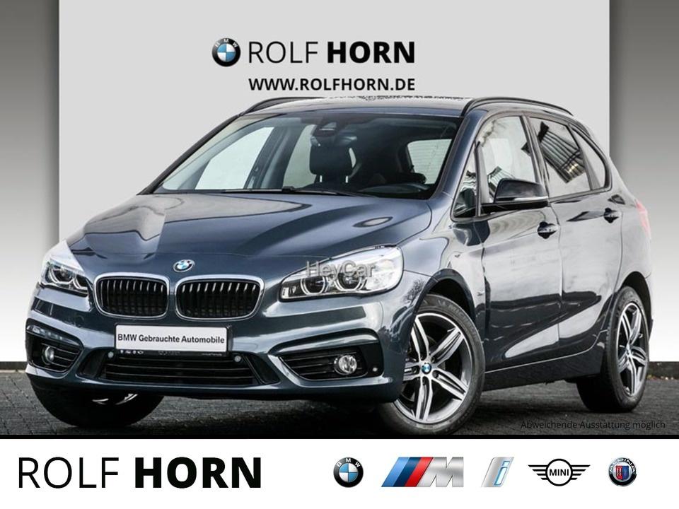 BMW 216 Active Tourer Sport Line Aut. PDC EURO 6, Jahr 2017, Diesel