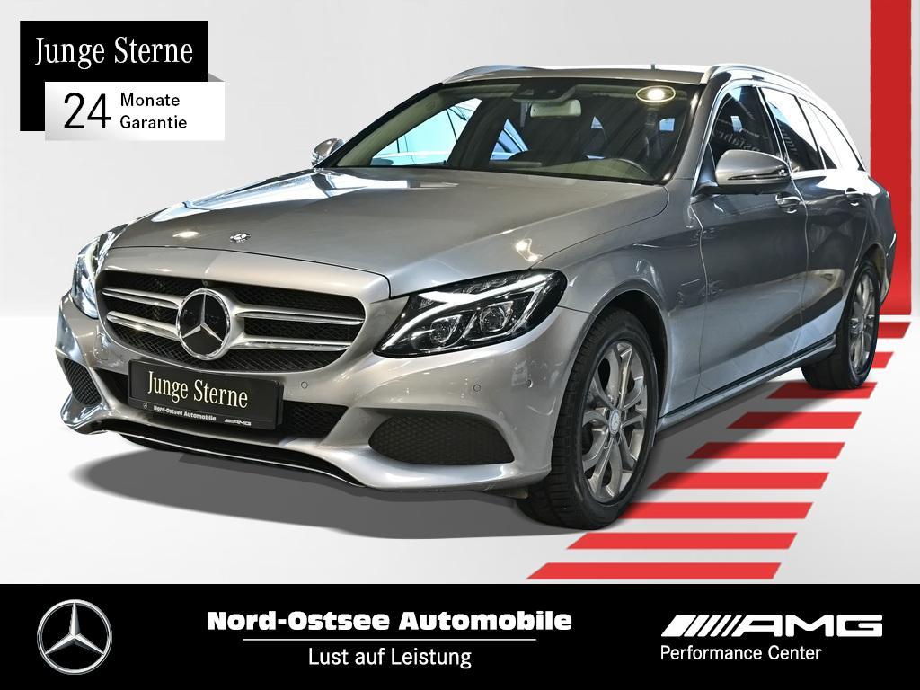 Mercedes-Benz C 300 T Avantgarde AHK LED Airmatic Distro R-Kam, Jahr 2016, Benzin