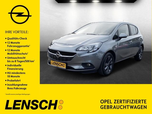 Opel Corsa E 1.4 120 Jahre INTELLILINK+PDC+RFK+SITZH, Jahr 2019, Benzin