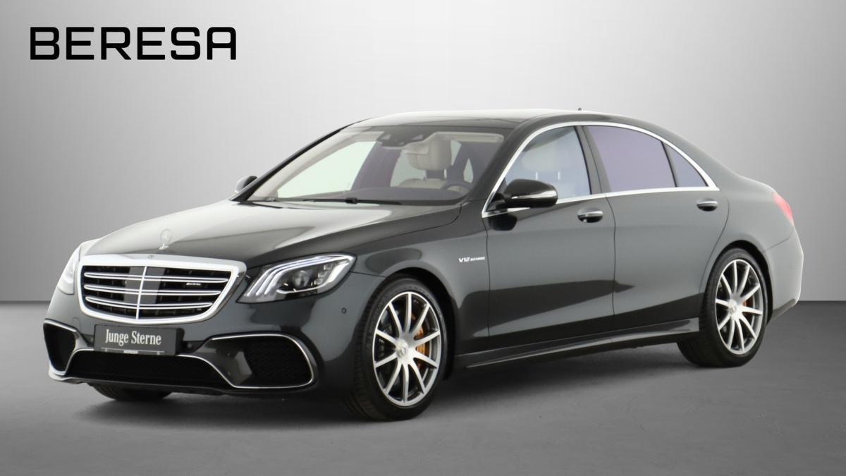 Mercedes-Benz S 65 AMG L Carbon Chauffeur Drivers P. Fond-TV, Jahr 2019, Benzin