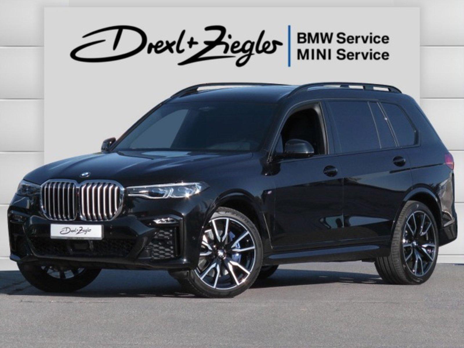 BMW X7 xDrive40i M Sport DAB H&K AHK Laser SkyLounge, Jahr 2020, Benzin
