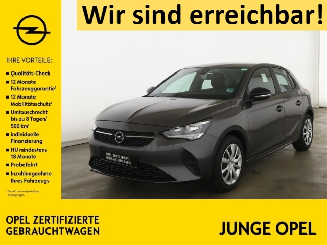 Opel Corsa F 1.2 Edition PARKPILOT+SITZHZG+ALLWETTER, Jahr 2019, Benzin