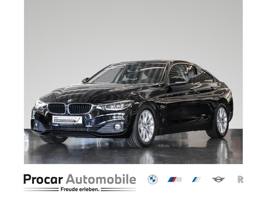 BMW 430i Gran Coupé Advantage Nav LED Shz Klimau PDC, Jahr 2018, Benzin