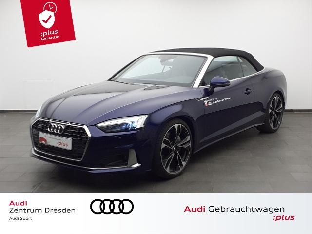 Audi A5 Cabriolet 45TFSI S line quattro Matrix LED, Jahr 2020, Benzin