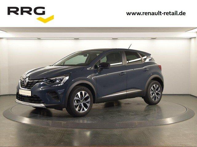Renault CAPTUR II EXPERIENCE TCe 101 DELUXE-PAKET SITZHE, Jahr 2020, Benzin