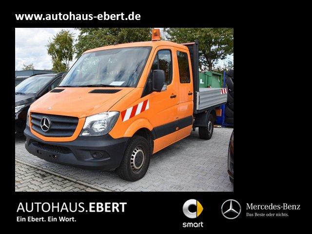 Mercedes-Benz Sprinter 316 DOKA Benziner EU6 Pritsche AHK, Jahr 2015, Benzin