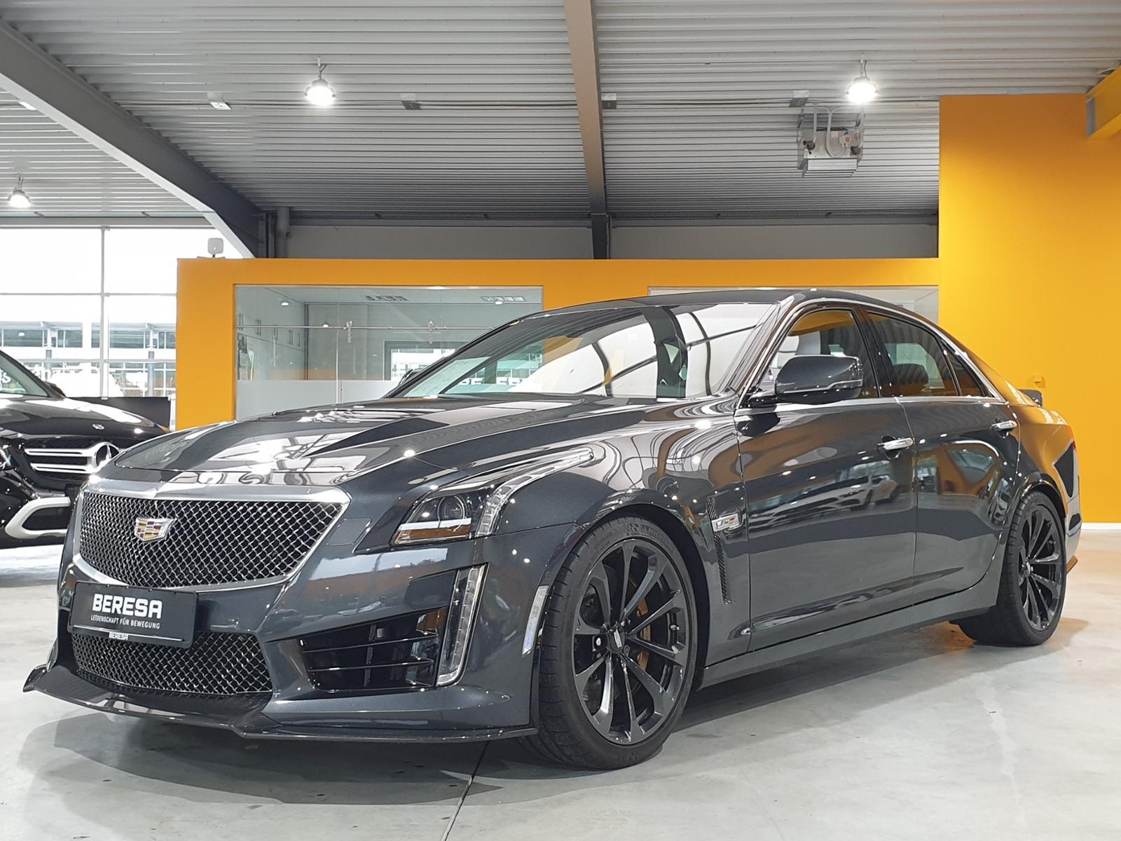 Cadillac CTS-V 6.2 V8 Performance-Sitze SHD Navi BOSE, Jahr 2017, Benzin