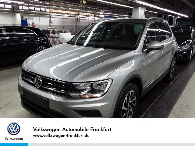 Volkswagen Tiguan 1.5 TSI DSG JOIN Anschlußgarantie Einparkhilfe Navi Leichtmetallfelgen Tiguan 1.5actCLOPFFR 110TSID7F, Jahr 2019, Benzin