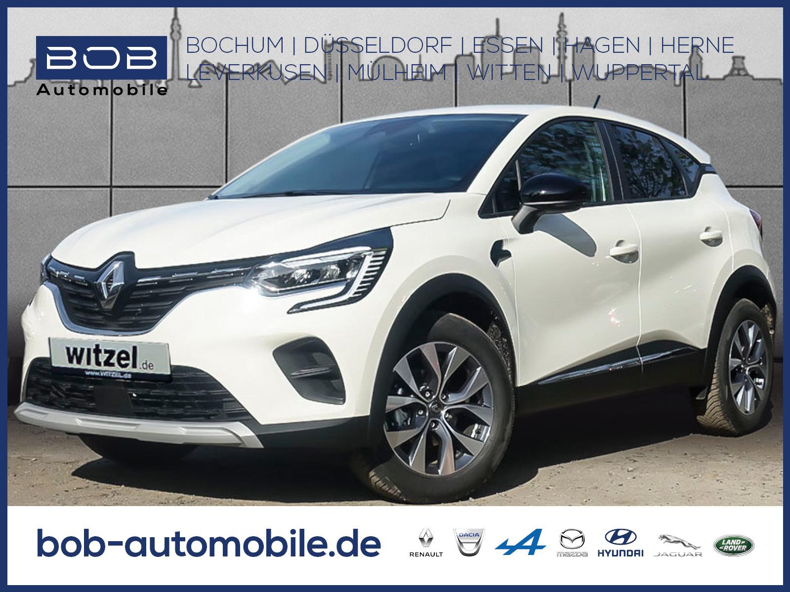 Renault Captur EXPERIENCE TCe 100 NAVI SHZ PDC KLIMA, Jahr 2020, Benzin