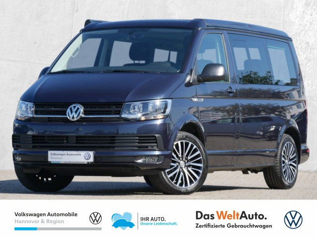 Volkswagen T6 California 2.0 TDI DSG Beach AD Navi AHK DCC ACC Stdhz PDC, Jahr 2016, Diesel