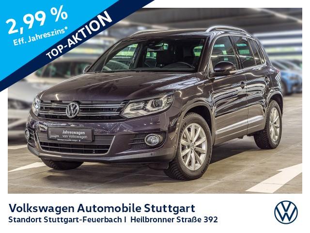 Volkswagen Tiguan 1.4 TSI Lounge AHK Navi Xenon Kamera, Jahr 2015, Benzin