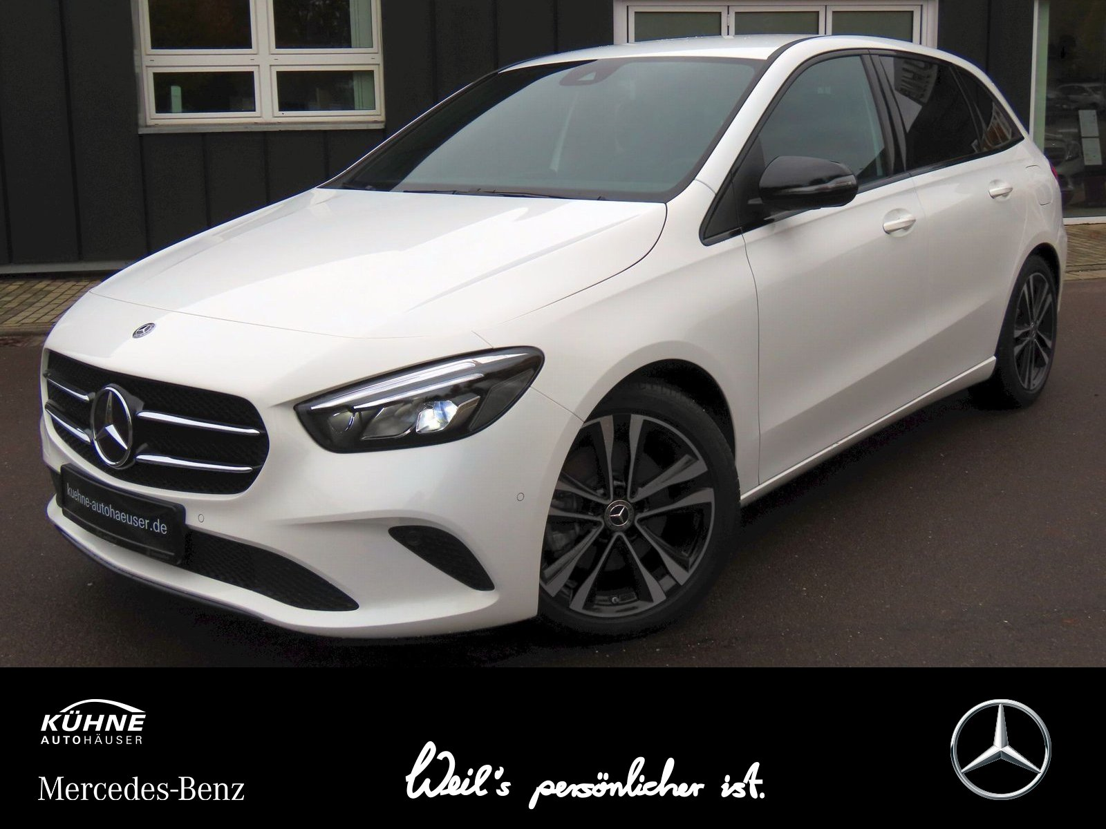Mercedes-Benz B 220 Progressive 4M 7G+Business+LED High+Night, Jahr 2019, Benzin