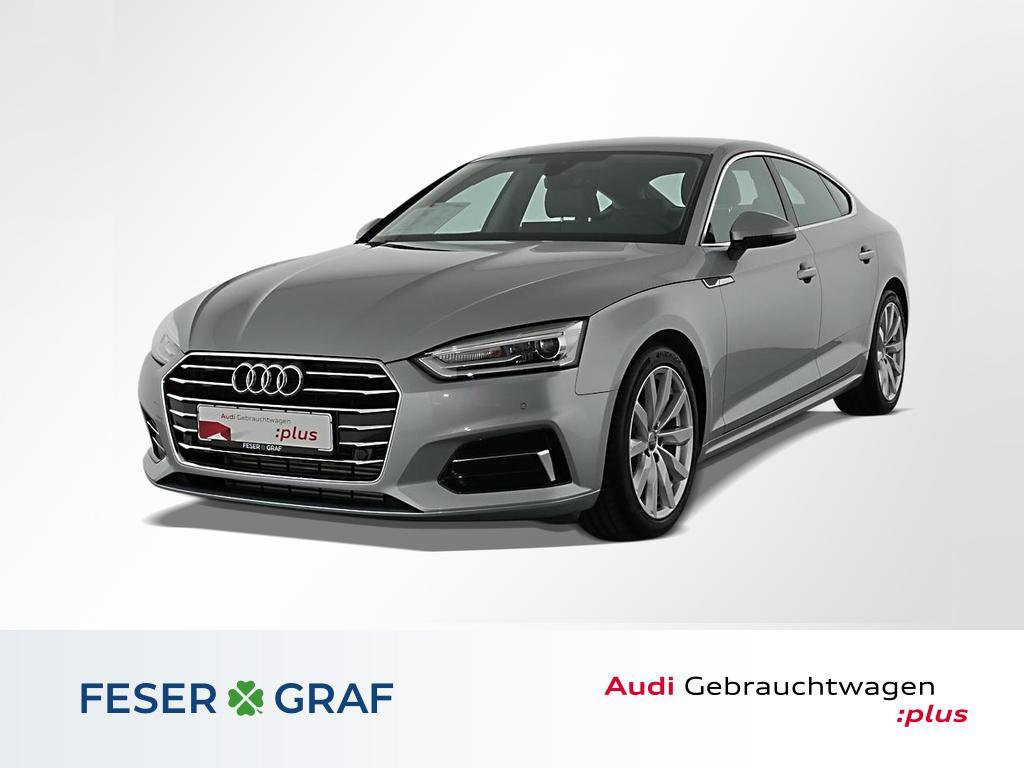 Audi A5 Sportback Design 40 TFSI S tro Leder,Navi,PDC, Jahr 2019, Benzin