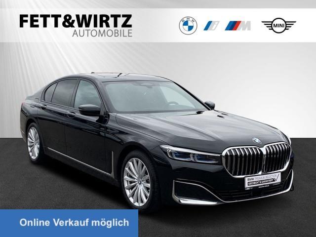 BMW 745e HUD TV+ Laser NightVis. Komforts. Massage, Jahr 2019, Hybrid