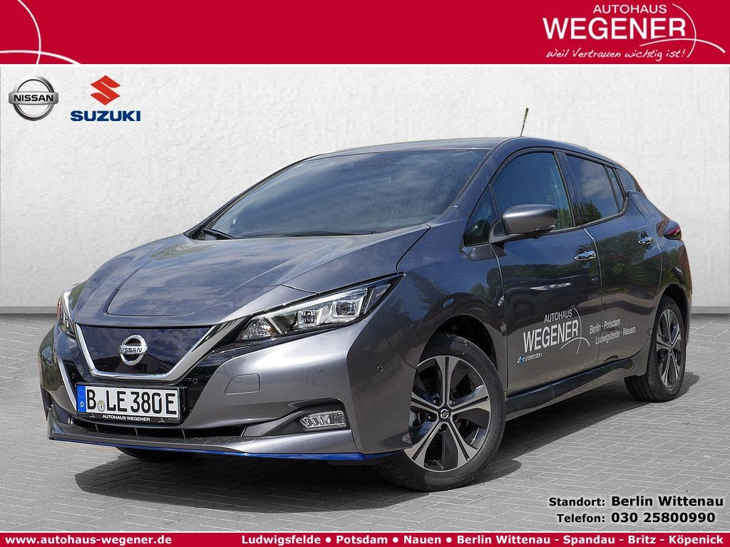 Nissan Leaf e+ Tekna PDC SHZ KAMERA BOSE NAVI LED ACC, Jahr 2020, Elektro