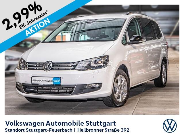 Volkswagen Sharan Match 2.0 TDI DSG 7-Sitze AHK Navi Xenon, Jahr 2012, diesel