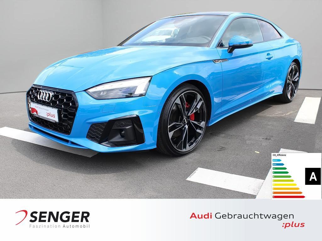 Audi A5 Coupé 40 TDI quattro Navi S line Panorama LED, Jahr 2020, Diesel