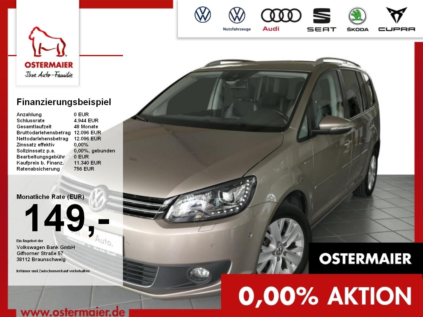 Volkswagen Touran LIFE 1.2TSI 105PS XENON.SITZHZG.ALU.CLIMA, Jahr 2013, Benzin