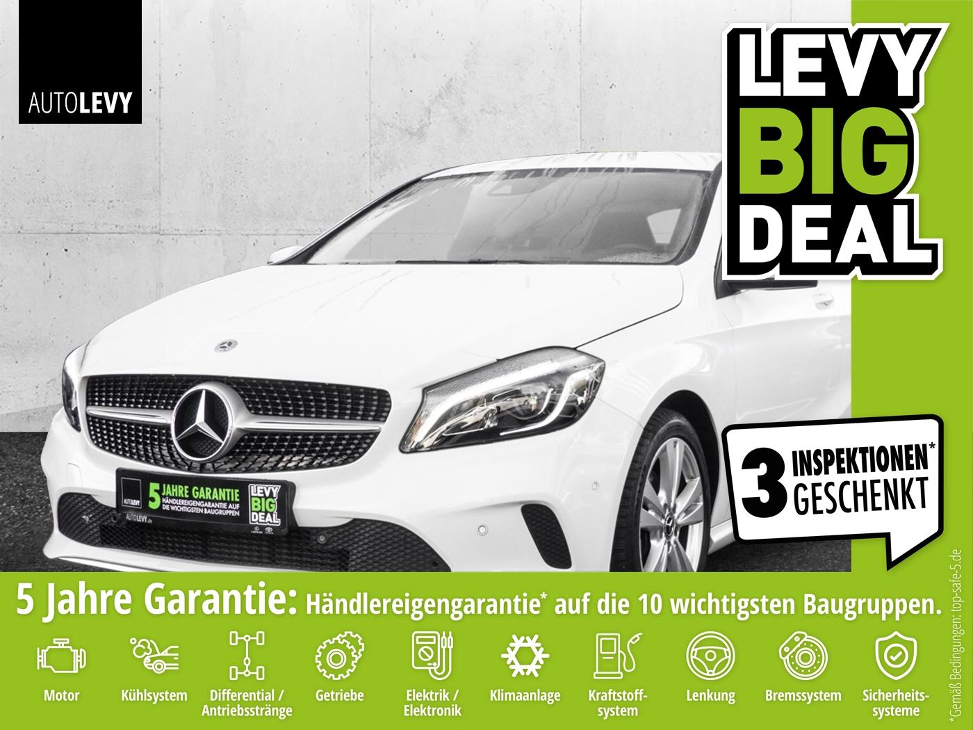 Mercedes-Benz A 180 Urban *NAVI*LED*ALLWETTER*PARKTRONIC*, Jahr 2017, Benzin