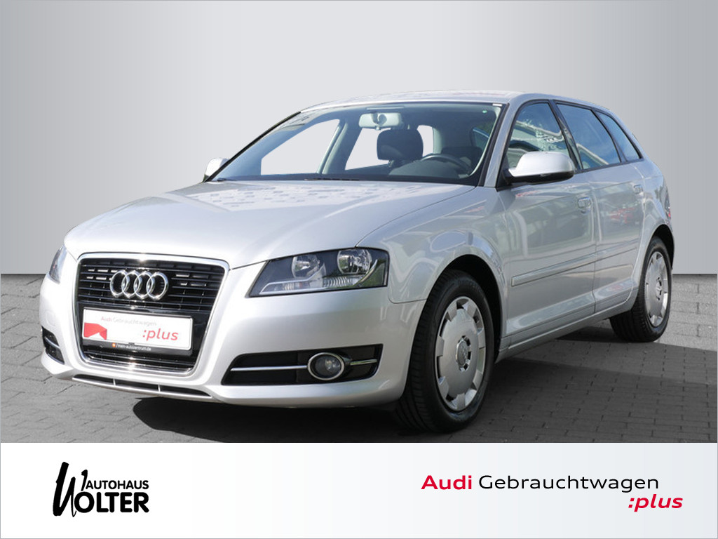 Audi A3 Sportback 1.6 TDI Attraction, Jahr 2012, Diesel