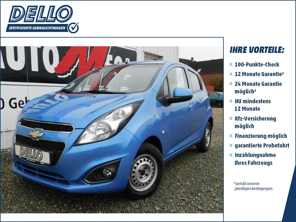 Chevrolet Spark LT 1.0 Radio/CD/MP3 Isofix/Kindersitzb., Jahr 2013, Benzin