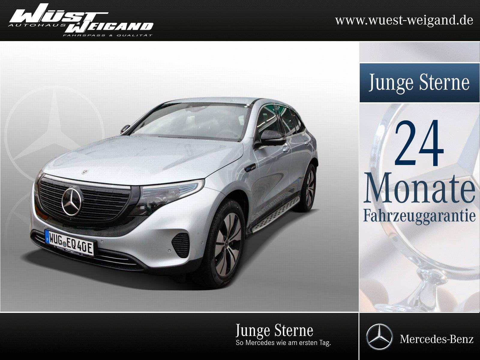 Mercedes-Benz EQC 400 4M ++Edition 1886++, Jahr 2019, Elektro
