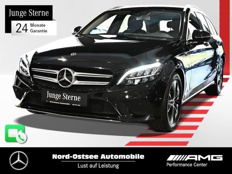 Mercedes-Benz C 180 T Avantgarde Navi LED Spur Kamera SHZ PDC, Jahr 2020, Benzin