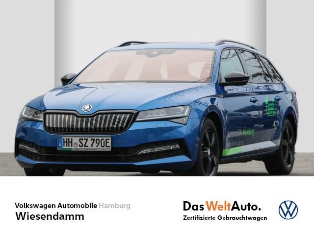 Skoda Superb Combi Sportline 1,4l TSI iV Aut. Std.Hzg Klima LM Navi AHK schwenkbar PSD LED, Jahr 2020, Hybrid