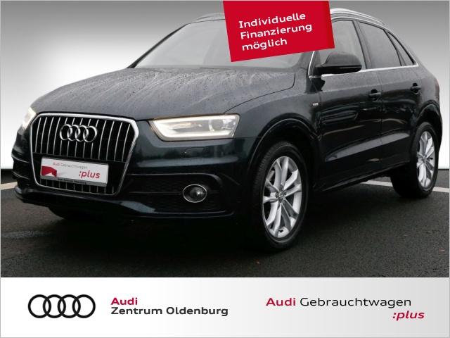 Audi Q3 2.0 TDI s line Xenon Panorama KomfortschlÃssel, Jahr 2014, Diesel
