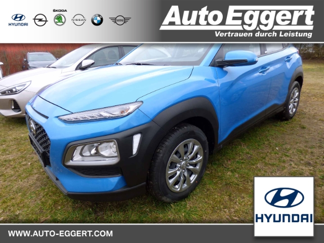 Hyundai Kona Pure 2WD 1.0 T-GDI LED-Tagfahrlicht Multif.Lenkrad RDC Alarm Klima Temp AUX USB, Jahr 2020, Benzin