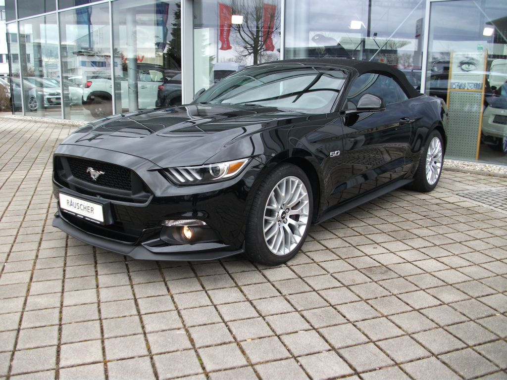 Ford Mustang Cabrio 5.0 Ti-VCT V8 Aut. GT, Jahr 2017, Benzin