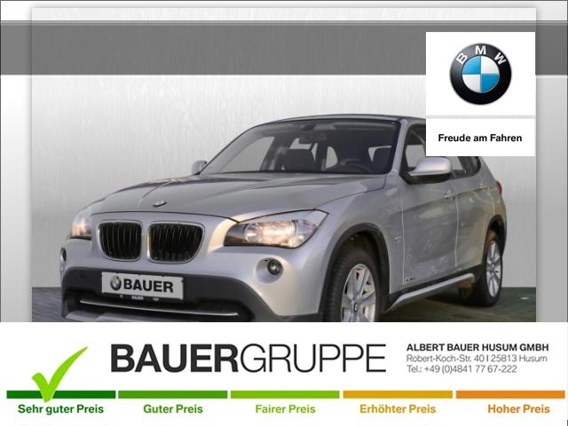 BMW X1 18i sDrive Klima PDC el. Fenster, Jahr 2012, petrol