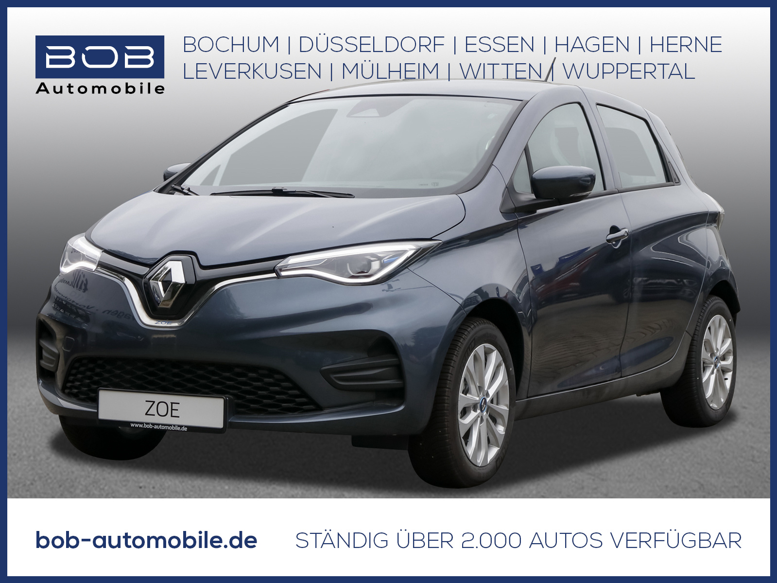 Renault ZOE EXPERIENCE Batteriemiete R110 ZE 50 NAVI PDC, Jahr 2021, Elektro