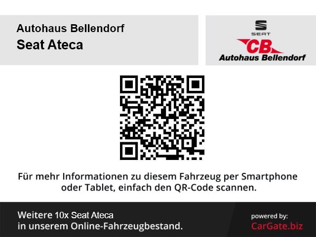 Seat Ateca Style 4Drive 2.0 TDI LED-Tagfahrlicht SHZ Navi Full LInk Lederlenkrad, Jahr 2016, Diesel