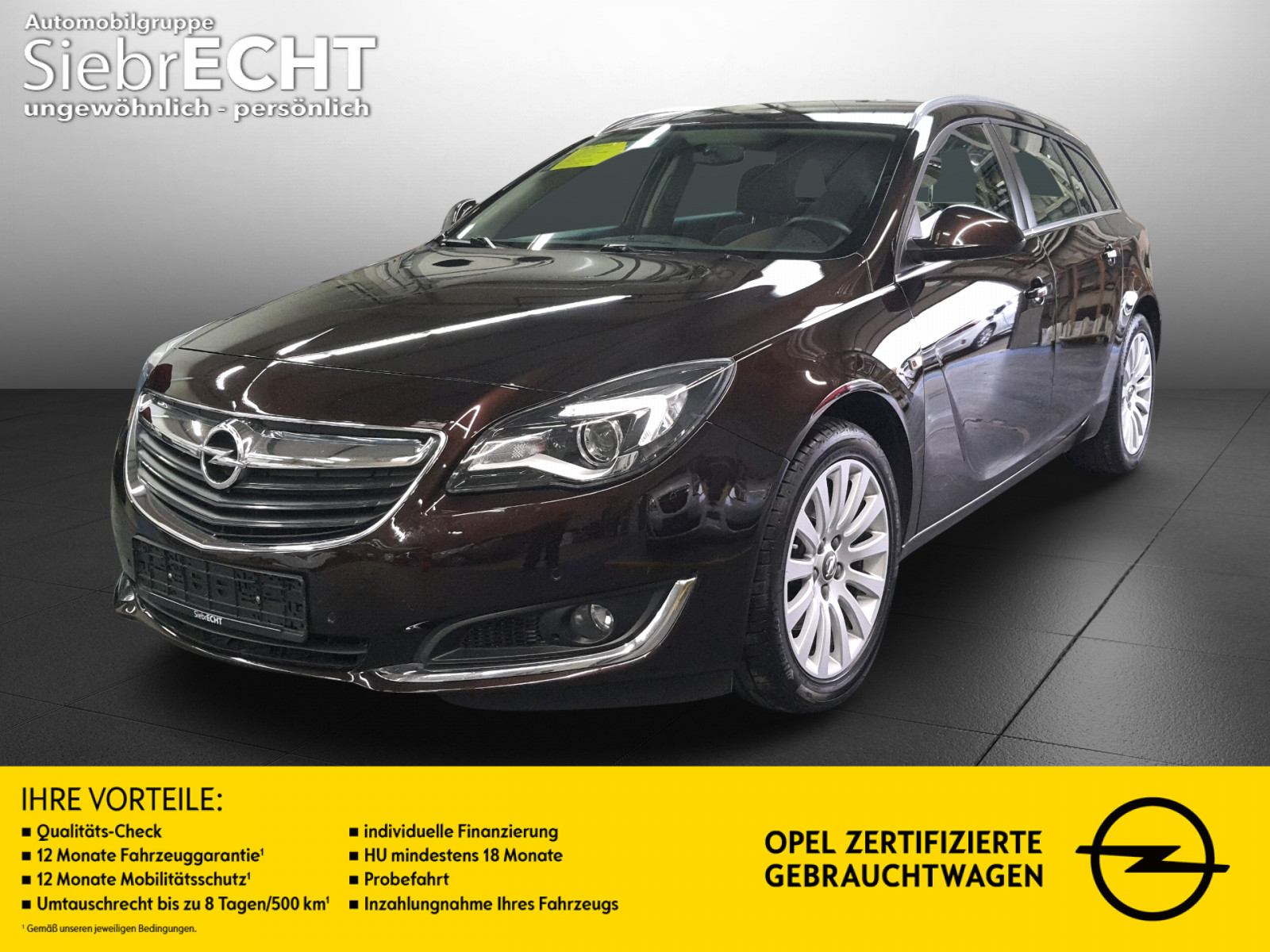 Opel Insignia A Edtition ST 2.0 CDTI AT*AHK*PDC*, Jahr 2015, Diesel