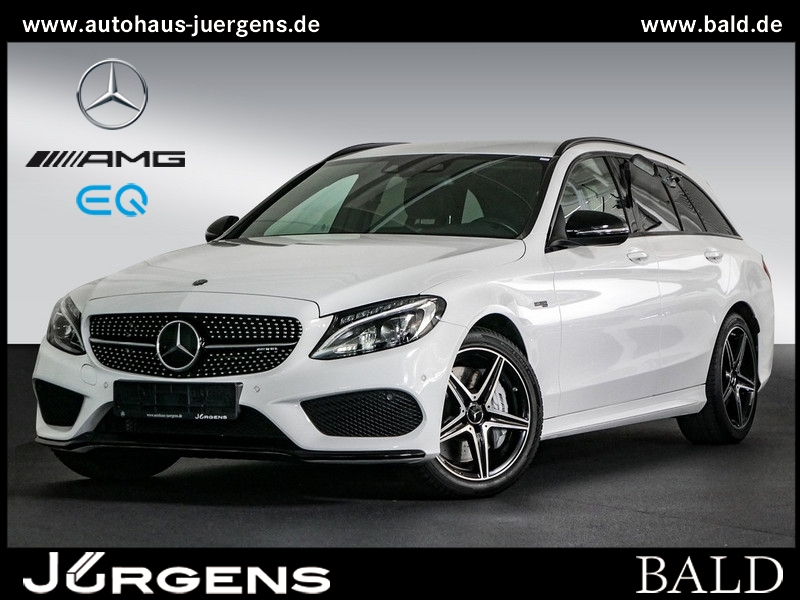 Mercedes-Benz C 43 AMG 4M T Navi/LED/Cam/Spur/Totw/Leder/Burm, Jahr 2016, Benzin