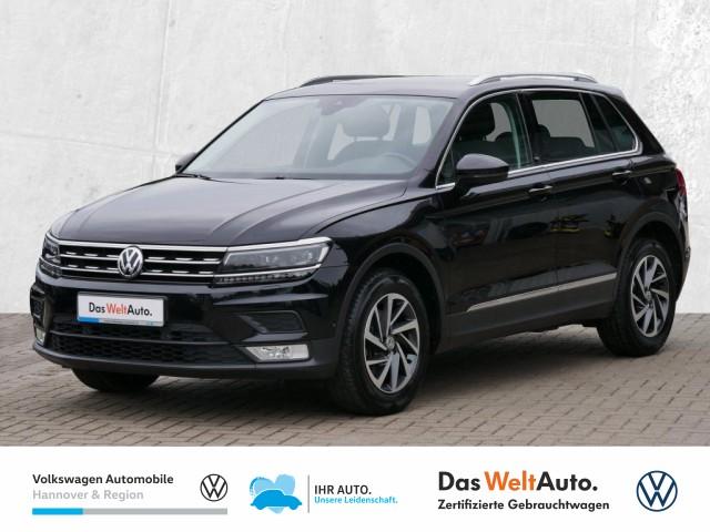 Volkswagen Tiguan 1.4 TSI Sound Navi LED Klima ACC PDC Sitzheiz, Jahr 2017, Benzin