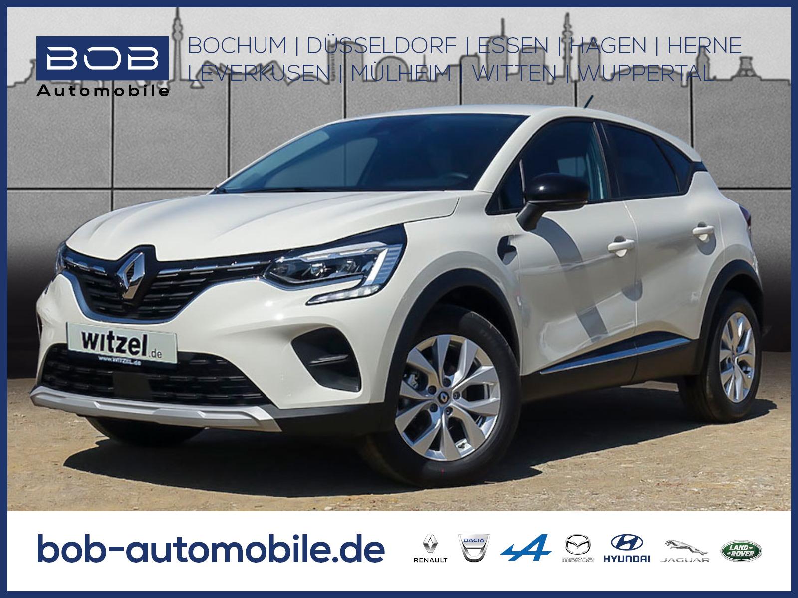 Renault Captur EXPERIENCE TCe 100 SHZ PDC KLIMA LM-Fel, Jahr 2020, Benzin