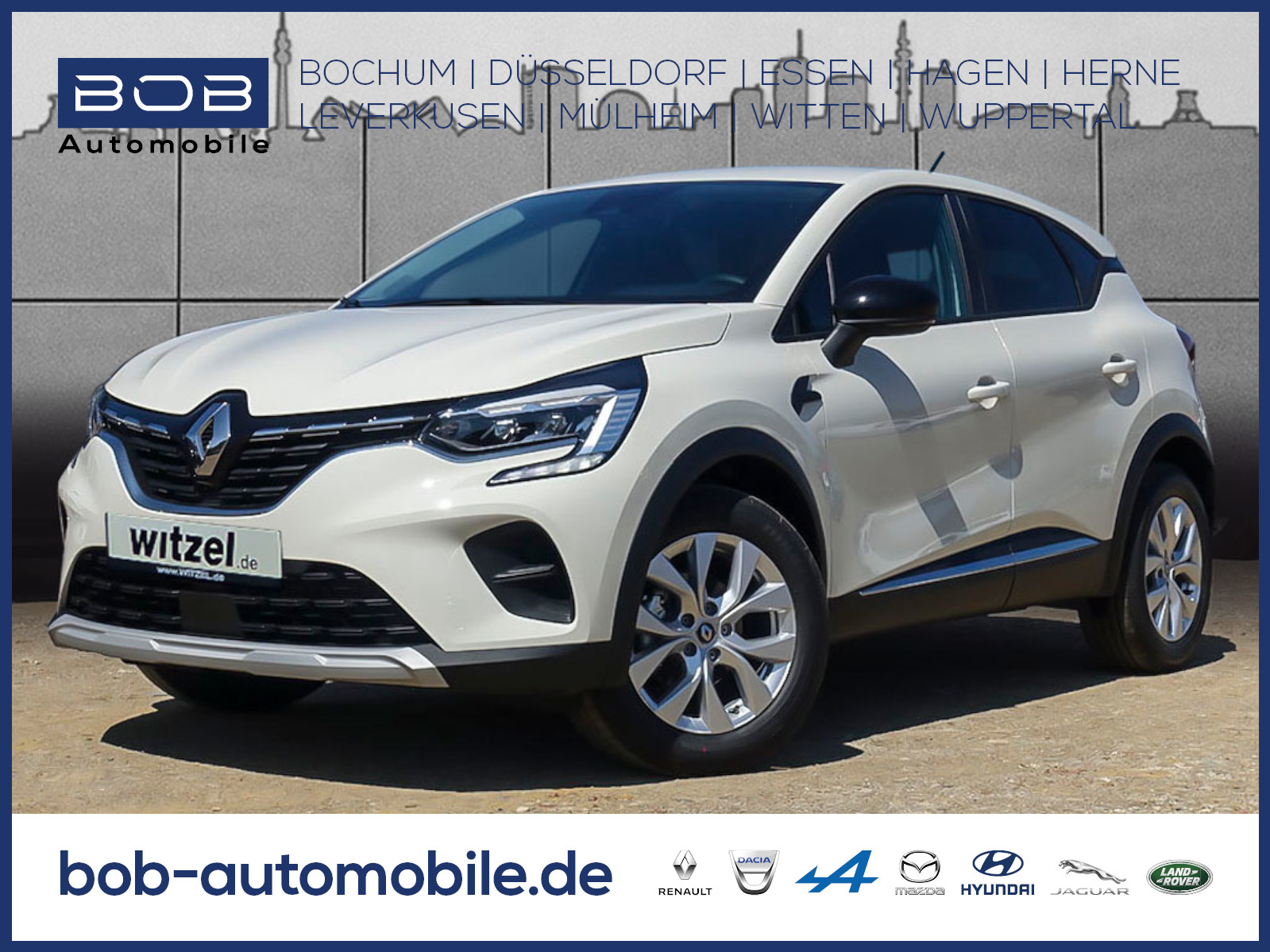 Renault Captur EXPERIENCE TCe 100 SHZ PDC KLIMA NAVI ALU, Jahr 2020, Benzin